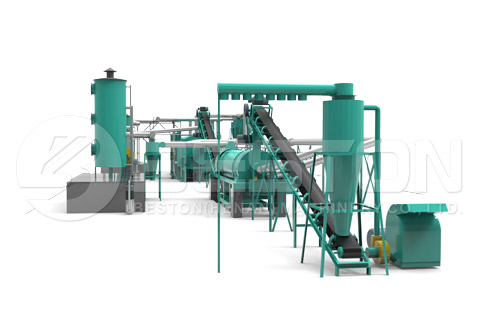3D Biomass Pyrolysis Equipment