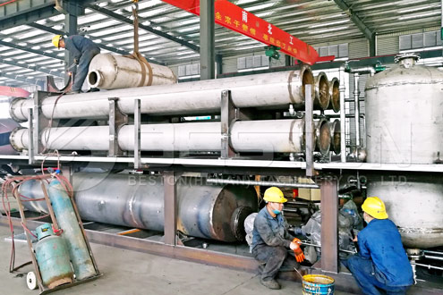 Beston Manufacturing Plant