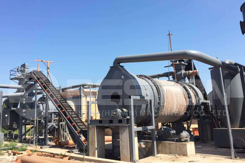 Biochar Production Machine for Sale