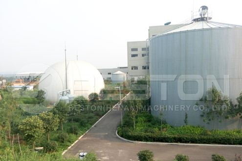 Biogas Producing System