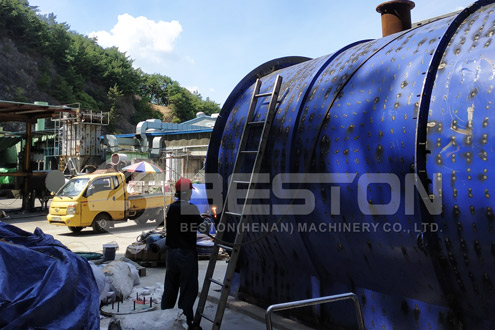 Plastic to Diesel Machine