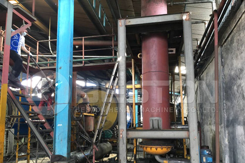 Beston Plastics to Oil Machine in Indonesia
