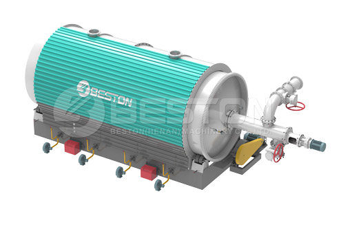 3D Beston Pyrolysis Furnace with Customized Service