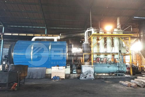 Beston Pyrolysis Plant in Indonesia