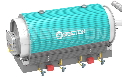 3D Beston Pyrolysis Reactor with Safety Design