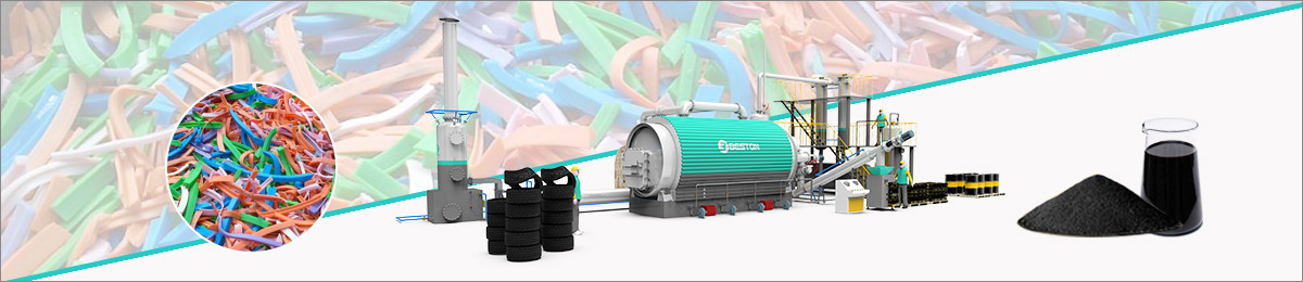 Rubber Recycling Plant Banner
