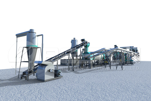 Sawdust Charcoal Making Plant