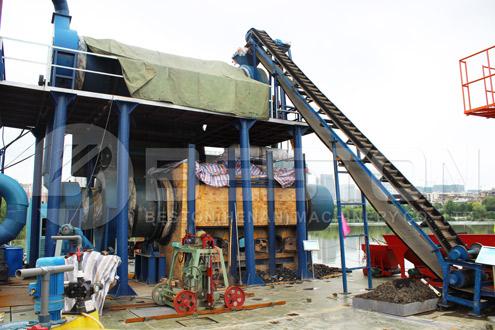 Sawdust Charcoal making Machine for Sale