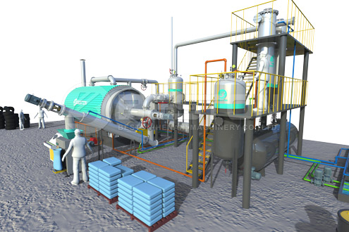 Waste Plastic to Diesel Machine for Sale | Plastic into Diesel Plant