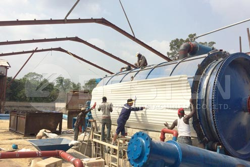Waste Tyre Pyrolysis Plant in Indonesia - Cost-Effective