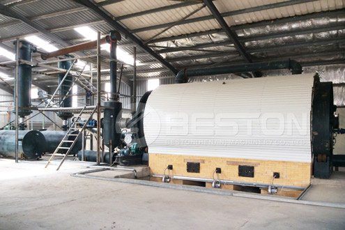 Beston Waste Pyrolysis Plant for Sale with Affordable Price