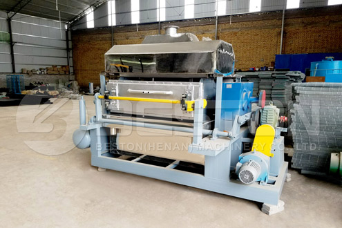BTF-4-4 Pulp Molding Machine