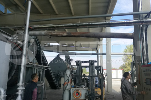 Beston Charcoal Production Plant Project in Turkey