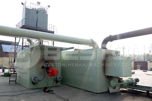 Beston Continuous Pyrolysis Reactor