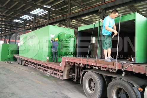 BLL-30 Beston Waste Pyrolysis Machine installed in Romania