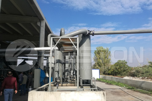 Charcoal Production Equipment in Turkey