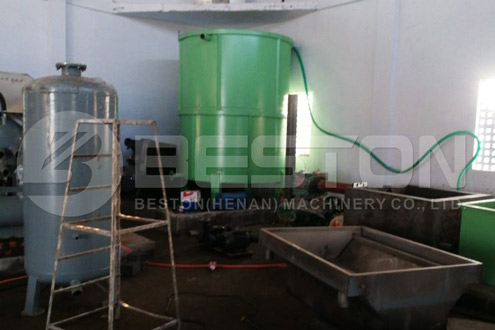 Installation of BTF-4-4 Egg Tray Machine in India