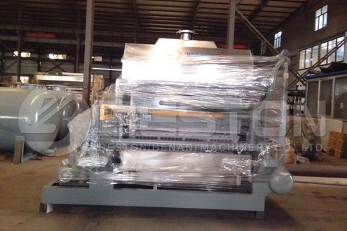BTF-4-8 Egg Tray Making Machine Was Shipped to Indonesia