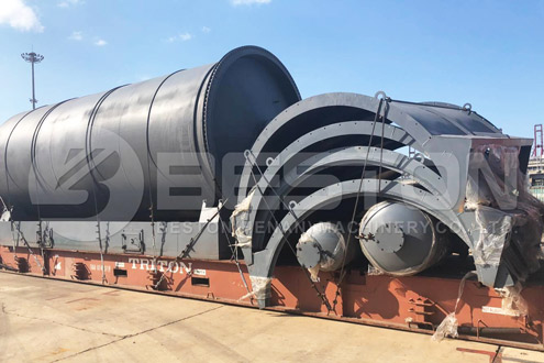 Shipment of Casing to South Africa