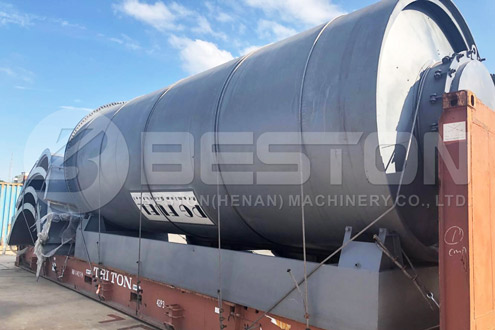BLJ-16 Tire to Oil Machine Shipped to South Africa