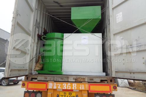 Shipment of Beston Bamboo Charcoal Equipment