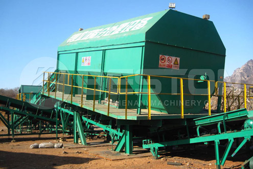 MSW Treatment Plant - Waste Management Treatment Plant 5-20T/H
