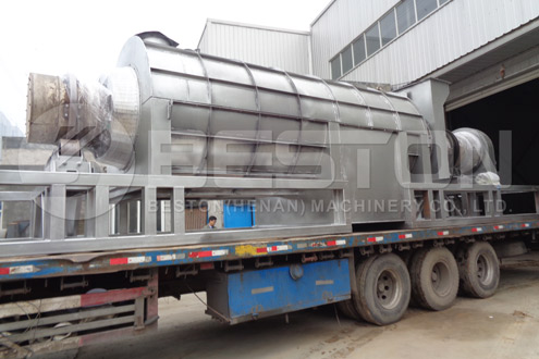 Palm Kernel Shell Charcoal Equipment