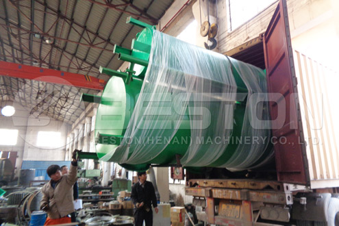 Shipment of Charcoal Making Machine