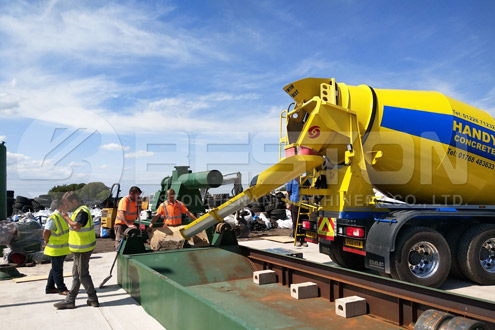 BLJ-16 Waste Tire Pyrolysis Machine Operated in England - Beston Group in Indonesia