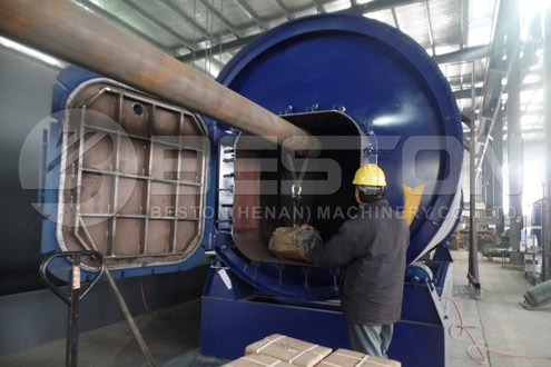 BLJ-10 Pyrolysis Machine Was Shipped to Uganda