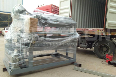Shipment of Paper Egg Tray Manufacturing Machine to the Sudan - Beston Group in Indonesia
