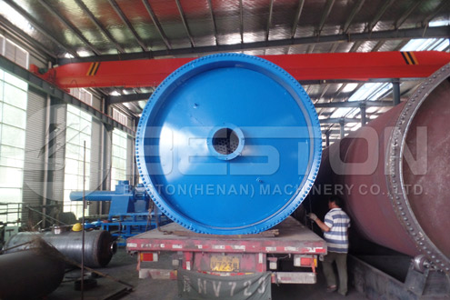 Shipment of Tyre Pyrolysis Equiment to Nigeria