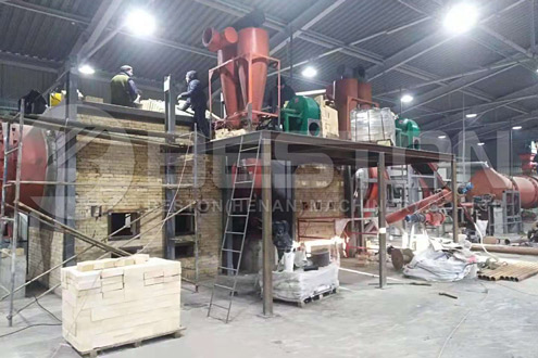 Wood Charcoal Machine in Ukraine