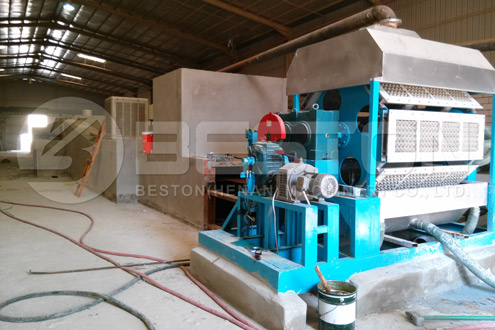 Beston Egg Box Making Machine in Saudi Arabia