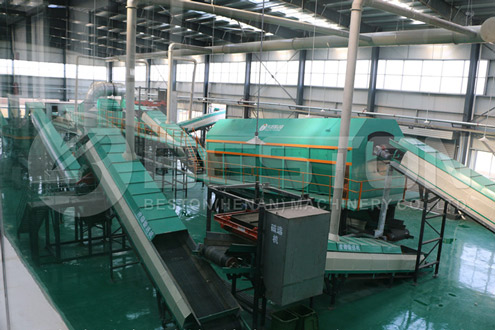 Beston Garbage Separation Machine for Sale