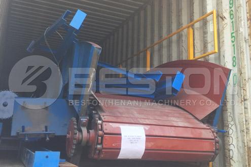 Conveyor of Waste Sorting Equipment