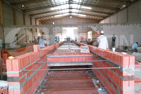 Dryer Building Process of Egg Crate Making Machine