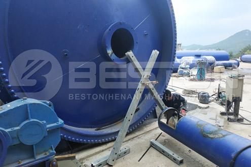 Installation Process of Tyre Recycling Equipment