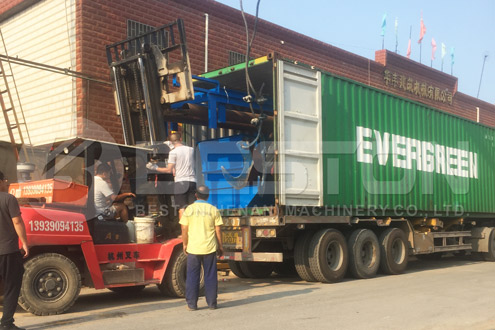 Municipal Solid Waste Sorting Machine Shipped to Hungary