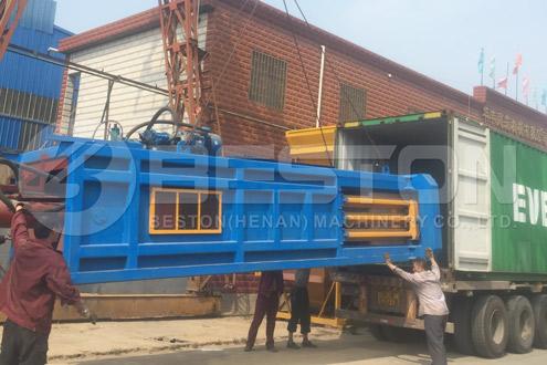Shipment of Automatic Waste Segregation Machine