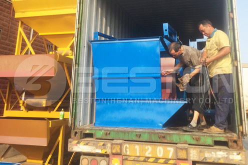 Shipment of Beston Waste Management Equipment to Hungary