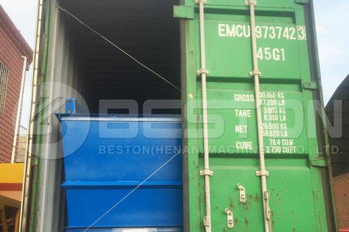 Shipment of Beston Waste Sorting Machine to Hungary