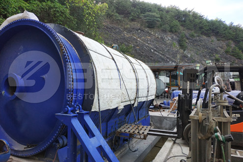 Tire Recycling Reactor