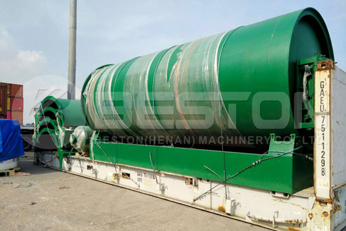 Beston Pyrolysis Equipment Shipped to Canada - Project