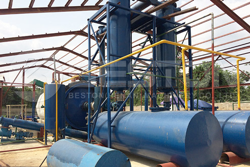 Oil Sludge Recycling Pyrolysis Equipment