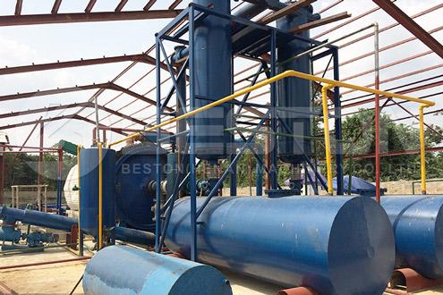 Oil Sludge Recycling Pyrolysis Equipment