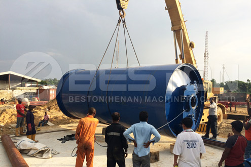 Oil sludge Recycling Pyrolysis Machine