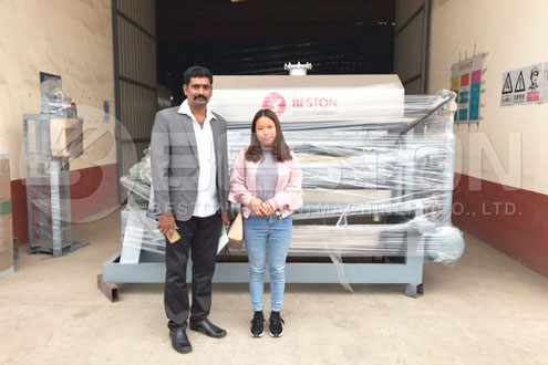Paper Tray Making Machine