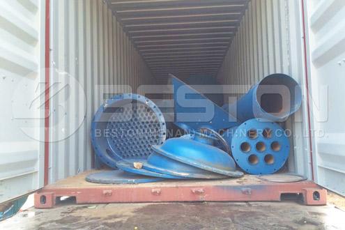 Beston Oil Sludge Pyrolysis Plant Installed in Nigeria