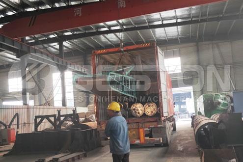 Tyre Pyrolysis Machine